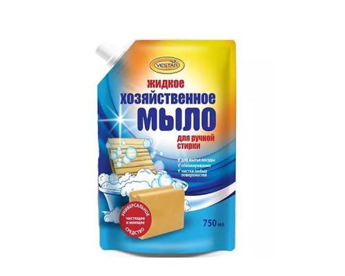 Мыло ТМ Vestar (Вестар) хозяйственное, жидкое, для ручной стирки, 750 мл
