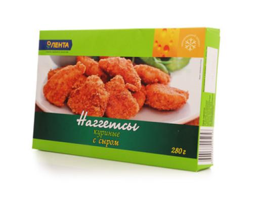 Нагеттсы куриные с сыром ТМ Лента