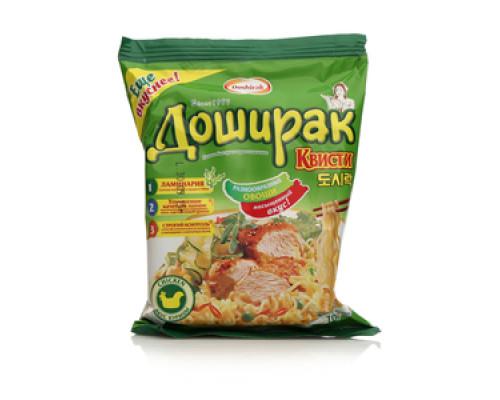 Лапша ТМ Doshirak (Доширак), быстрого приготовления вкус курицы 70 г