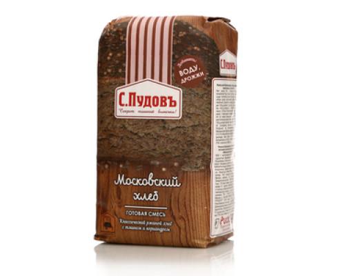 Готовая смесь московский хлеб ТМ С.Пудовъ