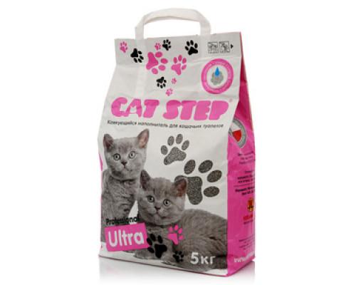 Наполнитель комкующийся для кошачьих туалетов ТМ Cat Step (Кэт Степ)