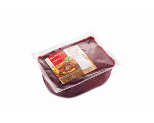 Печень свиная охлажденная Мираторг кг