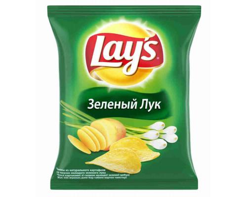 Чипсы Lays зеленый лук 150г