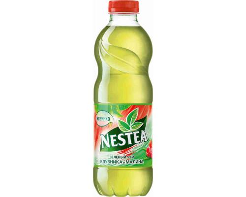 Напиток Nestea Vitao чай зеленый клубника/малина б/алк 1л пэт