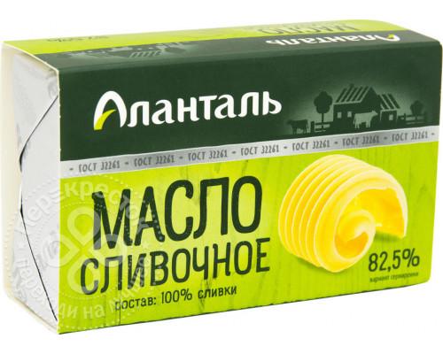 Масло сливочное ТМ Аланталь, 82,5%, 180 г