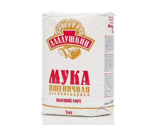 Мука пшеничная хлебопекарная ТМ Аладушкин