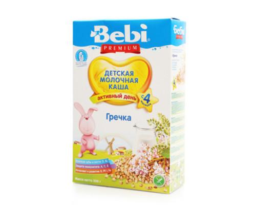 Детская молочная каша гречка с 4 мес. ТМ Bebi Premium  (Бэби Премиум)