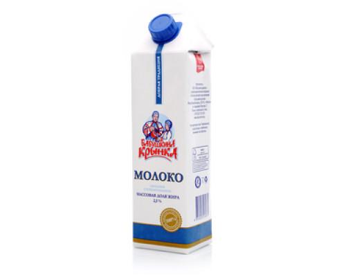Молоко 2,5% ТМ Бабушкина крынка