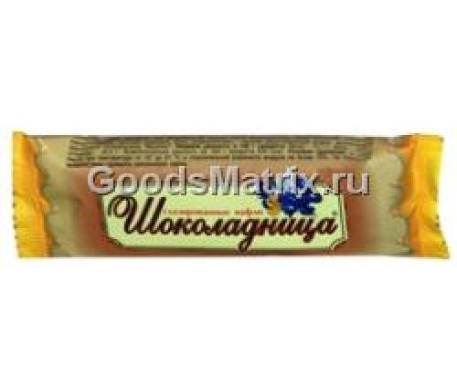 Глазированные вафли Шоколадница, 30 г