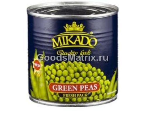 Зеленый горошек ТМ Mikado (Микадо), 425 мл