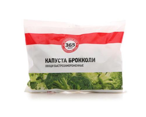 Капуста Брокколи овощи быстрозамороженные ТМ 365 дней