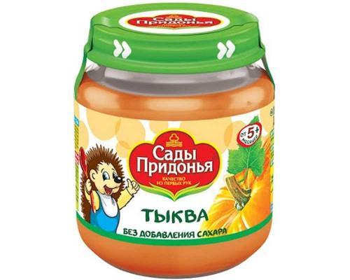 Пюре ТМ Сады Придонья Тыква, с 5 мес., 120 г