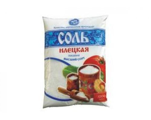 Соль поваренная пищевая молотая ТМ Илецкая  высший сорт
