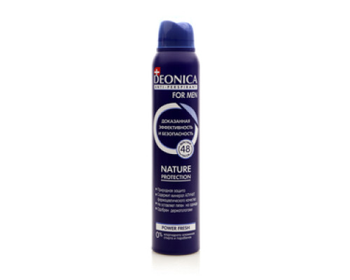 Антиперспирант Deonica for men Natura protection power fresh ТМ Deonica (Деоника)