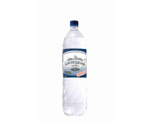 Вода минеральная Липецкий Бювет газ леч/стол 1.5л пэт
