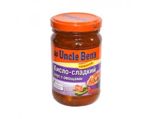 Соус ТМ Uncle Ben`s (Анкл Бен`с) кисло-сладкий с овощами, 210 г
