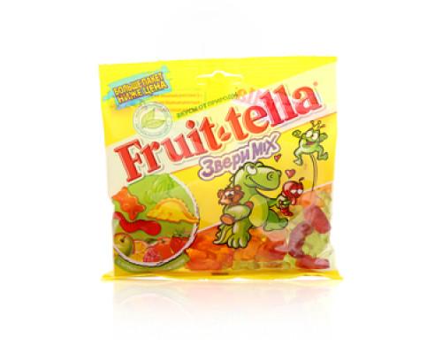 Жевательный мармелад Звери Mix ТМ Fruittella (Микс Фруттелла)