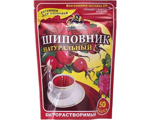 Напиток чайный Здоровье Шиповник быстрорастворимый порошкообразный 75 г