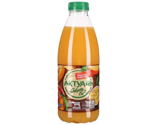 Напиток Актуаль персик/маракуйя, 0,1%, 930 г