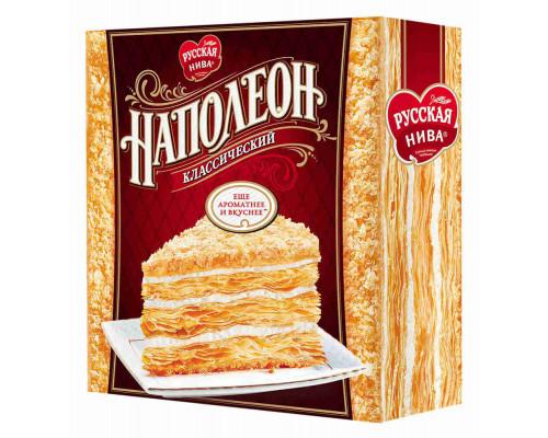 Торт Русская Нива Наполеон классический 450г