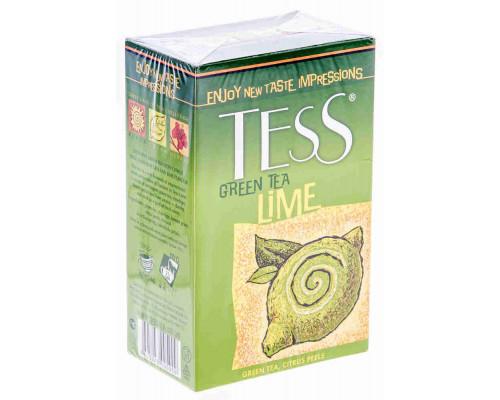 Чай зеленый Tess Lime 100г