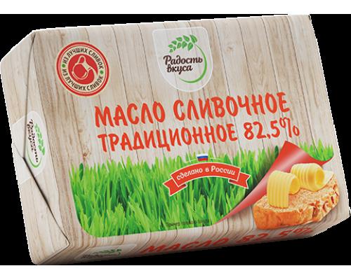 Сливочное масло Традиционное ТМ Радость вкуса, 82,5%, 180 г
