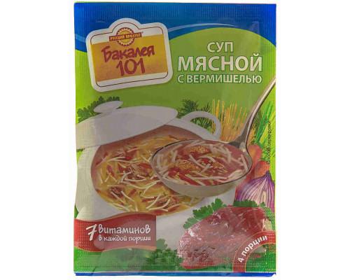 Суп Русский продукт мясной с вермишелью 60г