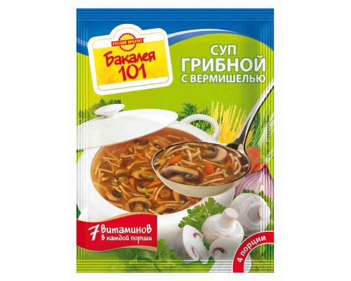 Суп Русский продукт грибной с вермишелью 60г
