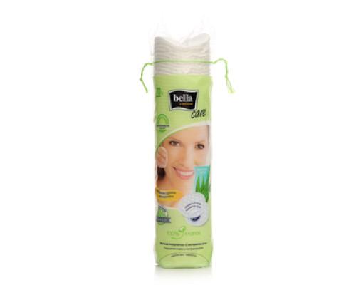 Ватные подушечки с экстрактом алоэ Care TM Bella cotton (Белла коттон), 70 шт