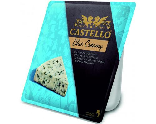 Сыр ТМ Castello (Кастелло) Blue Creamy, с голубой плесенью, 56%, 125 г