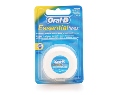 Зубная нить Essential floss 56м ТМ Oral-b (Орал-би)
