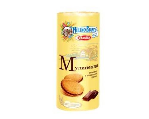 Печенье Мулинелли с начинкой какао ТМ Mulino Bianco (Мулино Бьянко)