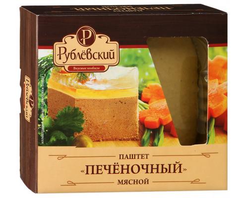 Паштет мясной Печеночный ТМ Рублёвский, 200 г