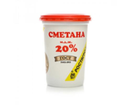 Сметана 20% ТМ Росагроэкспорт