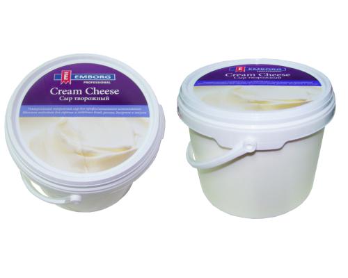 Сыр творожный Cream Cheese ТМ Emborg (Эмборг), 2,2 кг