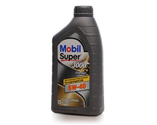 Масло моторное синтетическое 3000 5W-40 ТМ Mobil Super (мобил супер)