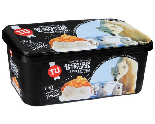 Мороженое ТМ Tu Food (Ту Фуд) яблочный штрудель, 500 г