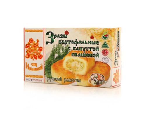 Зразы картофельные с квашеной капустой ТМ От Ильиной