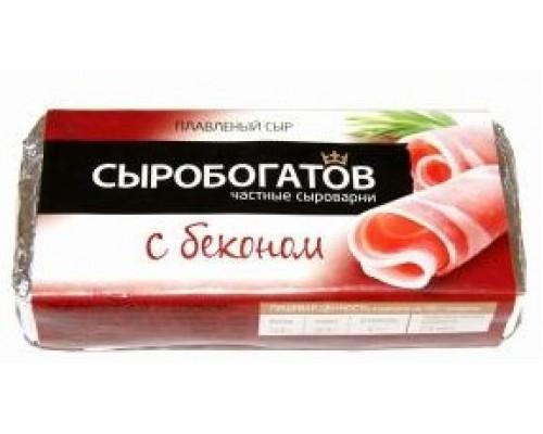 Сыр плавленый ТМ Сыробогатов, с беконом, 80 г