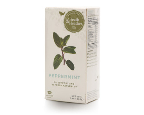 Чай травяной Peppermint 20*2 г ТМ Heath Heather (Хес Хезер)