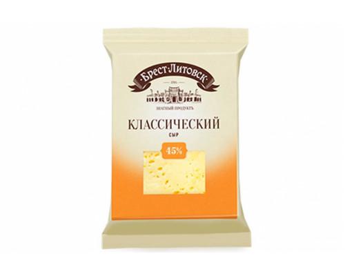 Сыр Классический ТМ Брест-Литовск, 45 %, 200 г