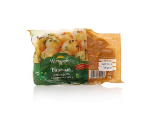 Картофель вареный очищенный Золотистый ТМ Натурово
