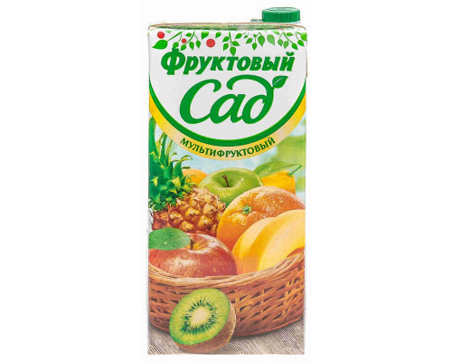 Нектар Фруктовый Сад мультифрукт 1.93л т/п