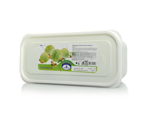Мороженое пломбир Фисташковый 15% ТМ Петрохолод