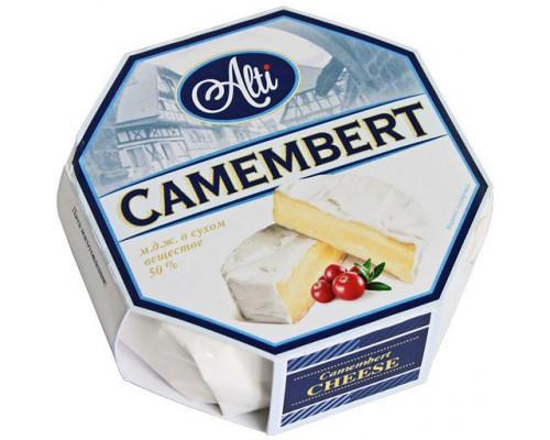 Сыр Camembert ТМ Alti (Алти), 50%, 125 г