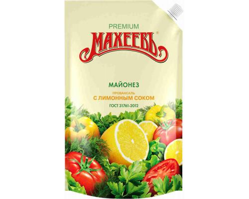 Майонез Провансаль с лимонным соком Махеев 50,5% 770г д/п