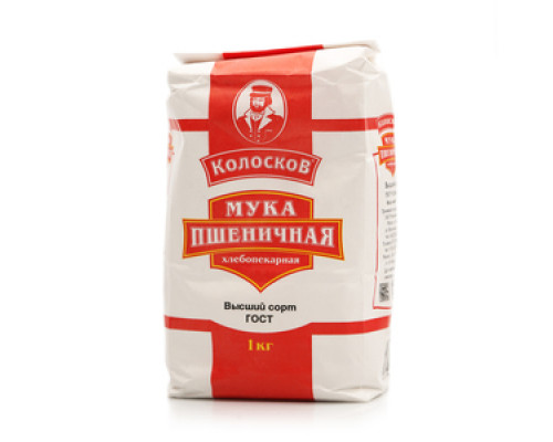 Мука пшеничная в/с ТМ Колосков