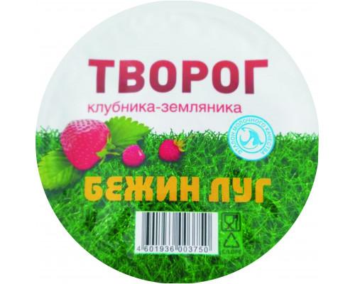 Творог Бежин луг клубника-земляника, 4,2%, 160 г