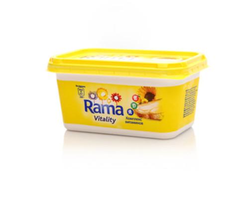 Маргарин ТМ Rama (Рама), Rama vitality (Рама Виталиту), 55%, 475 г