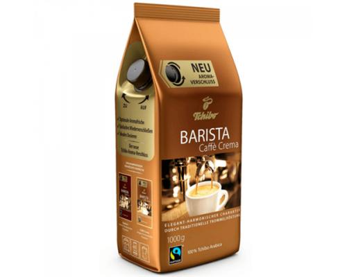 Кофе ТМ Tchibo (Чибо) Barista Caffe Crema, в зернах, 1 кг